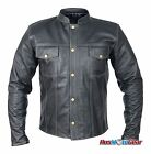 Motorcycle Leather Jacket Dare Rider™ Signature Range Straight Fit Jacket