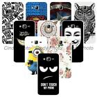 For Samsung Galaxy J3 2016 J320F J320Y Hard Plastic Case Cover Minions Elephant