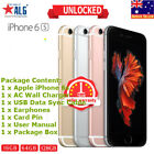 New Box APPLE iPhone 6S 16GB 64GB 128GB 4G LTE Smartphone Unlocked in Sealed