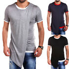 New Arrival Fashion Casual Short Sleeve Design Personality Men Casual Tshirt