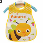 Baby Boy Girl Kids Bibs Waterproof Saliva Towel Cartoon Bib Feeding Bandana USA