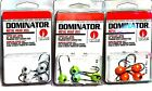 VMC Pro Series Dominator Metal Head Jigs- 4 Pieces Choice Size & Color (1 Pack)