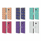 HEAD CASE DESIGNS STAR PATTERN LEATHER BOOK CASE FOR SAMSUNG GALAXY S8+ S8 PLUS