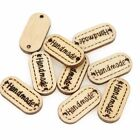 Wood Handmade Word  Craft Decoration Buttons cute accessories