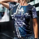 Toronto Maple Leafs Best Tee Fullprint Tshirt New Women's T-Shirt Size S to 3XL $20.99 USD on eBay
