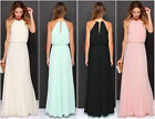 Ladies Women Maxi Boho Summer Bridesmaid Long Dress Evening Party Beach Sundress