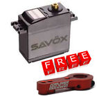 Savox SC-0251MG Standard High Torque Metal Gear Servo w/Free Red Alum Horn