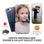 custom cover photo - Your Own Custom Photo Wallet Case for iPhone & Galaxy Personalized Cover