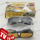 hd vision wraparound sunglasses - HD Vision Wrap Around Sunglasses Night Day Vision Driving Anti Glare Glasses New