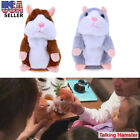 Cute Talking Hamster Mimicry Pet Plush Toy Kids Speak Talking Sound Record Toy