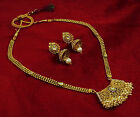 Traditional Bollywood Indian 2 PC Necklace Set Bridal Women Jewelry-BNS95