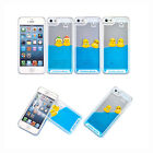Transparent Liquid Fun Ducks Floating Hard Case Cover for Apple iphone 5/5s US