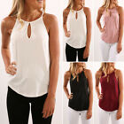 Fashion Women Loose Vest Tops Sleeveless Shirt Blouse Chiffon Tank Tops T-Shirt