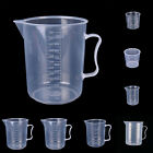 Plastic Measuring 20-1000ml Cup Pitcher Jug Pour Spout Kitchen Tool With Handle