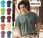 Внешний вид - Comfort Colors Mens Cotton Blank Pigment Dyed Short Sleeve T Shirt 1717 up to 3X