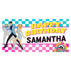 Elvis and Nancy Personalized Birthday Banner Music Party Decoration
