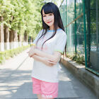 Anime Game OW Overwatch Summer Woman D.VA Short Sleeves T-shirt Clothing Tee Top