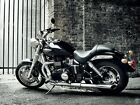 Triumph Motorbike Hot Black and white Sparkling Wall Print POSTER AU $34.95 AUD on eBay