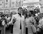 ROGER MOORE 71 WITH BARBARA BACH (007 JAMES BOND) PHOTO PRINTS AND MUGS
