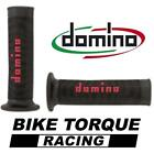 Bimota 1100 Furano  Black & Red Domino RR Diamond Handle Bar Grips