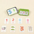 Kids Game Educational Card Animal Vocabulary Letter Recognize Cards Baby Develop