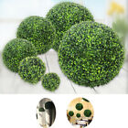Home Garden - Home Decor Artificial Plant Parties Foliage Green Grass Ball Pom Poms Garden NEW