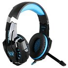 Gaming Headset 7.1 Surround Sound USB Game Headphone Earphone W/ LED Light Mic