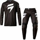 NEW 2017 SHIFT RACING WHITE LABEL NINETY SEVEN COMBO DIRT BIKE BLACK ALL SIZES