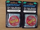 KRYSTON SUPER-SILK HOOKLENGTH - 14LB OR 20LB 20M SPOOL SUPERSILK CARP FISHING