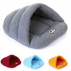 Dog Cat Tunnel Cave Bed Warm Mat Bed Small Pet Rabbit Squirral Mummy Shape Comfo