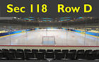 2 Pittsburgh Penguins Tickets You pick games Section 118 Row D