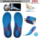 Orthotic Shoe Insoles Orthotic Arch Support Massaging Gel Insoles Inserts