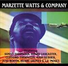 MARZETTE WATTS - MARZETTE WATTS AND COMPANY USED - VERY GOOD CD