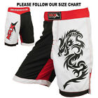 Kyпить MMA Grappling Shorts Cage Fighter UFC Kickboxing Short Muay Thai Red White Black на еВаy.соm