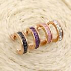 14K Rose Gold Filled Stainless Steel Jewelry Cryolite Women's Earring For Gift
