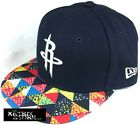 NEW ERA NBA MULTI FIT KIDS 59FIFTY FITTED CAP - HOUSTON ROCKETS (Navy/White)