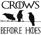 Vinyl Decal Truck Car Sticker Laptop - Game Of Thrones Crows Before Hoes