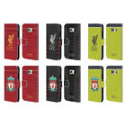 LIVERPOOL FC LFC KIT 2016/17 LEATHER BOOK WALLET CASE COVER FOR SAMSUNG PHONES 1