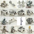Authentic Solid 925 Sterling Silver Charms I fit European Bead Charm Bracelets