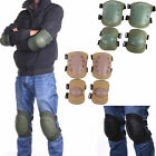 Adjustable Airsoft Tactical Combat Protective Knee Elbow Pad