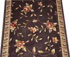 Chocolate Spring Blossoms Premium Carpet Rug Hallway Stair Runner