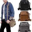 Vintage Men's Military Canvas Satchel Shoulder Bag Messenger School Bags Casual