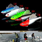 14g 65mm Winter Ice Sea Sinking Hard Fishing Lures VIB Bait Diving Swivel Jig JR