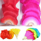 Внешний вид - Popular 1.8m Hand Made Colorful Belly Dancing Bamboo Long Silk Veils Dance Fans
