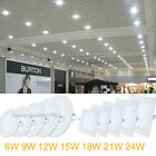 Dimmabe 6W 9W 12W 18W 24W Office LED Recessed Ceiling Panel Down Lights Fixture