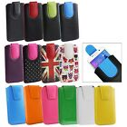 Stylish PU Leather Pouch Case Sleeve has Pull Tab for Doopro P1 Pro Smartphone