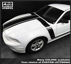 Ford Mustang 2013-2014 BOSS 302 Style Hood & Side Stripes Decals (Choose Color)