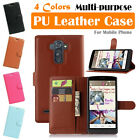 LG G4 Stylus G Stylo 4G LS770 MS631 H631 Leather Wallet Protective Case Pouch