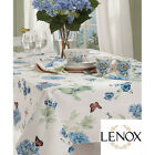NEW Butterfly Meadow Blue Tablecloth by Lenox