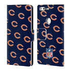 OFFICIAL NFL 2017 18 CHICAGO BEARS LEATHER BOOK WALLET CASE FOR GOOGLE PHONES